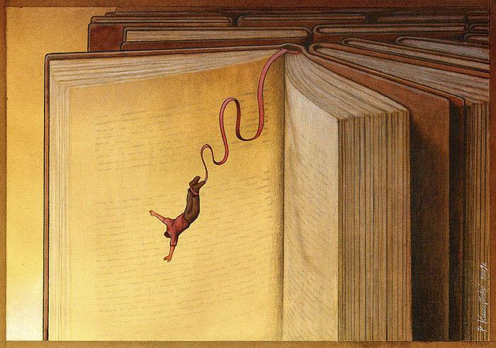 Tri thức là vô tận. Bạn cứ thỏa sức vui thú với sách vở đi, chắc chắn bạn sẽ không hối hận đâu
